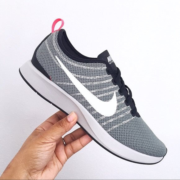 big sale 89d50 466dc Nike Dualtone Racer Black White Pale Grey Men 10.5